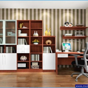 modern çalışma odası yeni