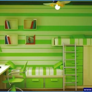 yeşil oda tasarımı