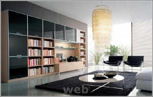 en modern ev içi görüntüler