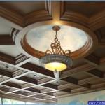 cafe için lüks asma tavan