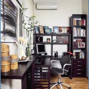 küçük çalışma odası tasarımı