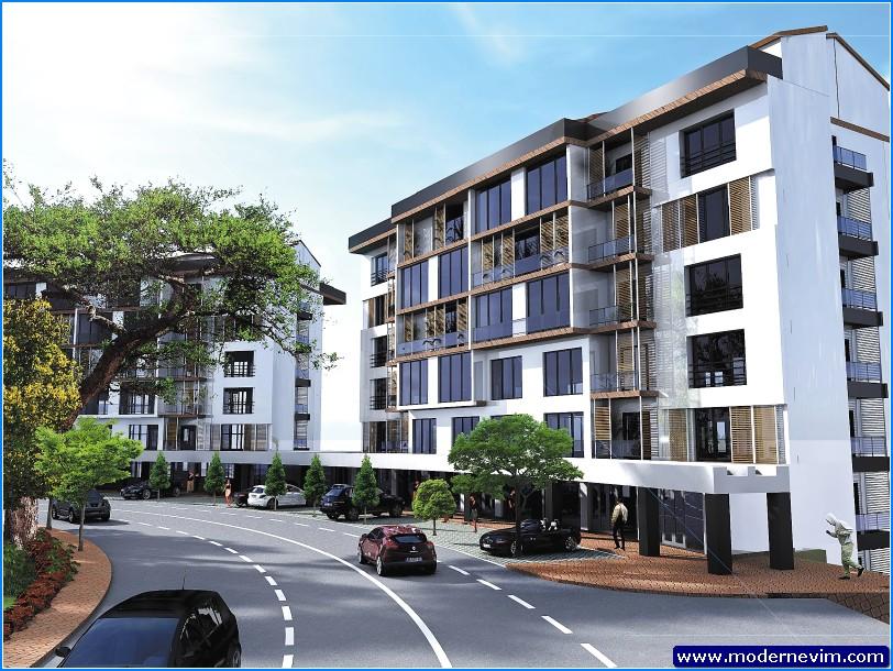 Modern Apartman Projeleri