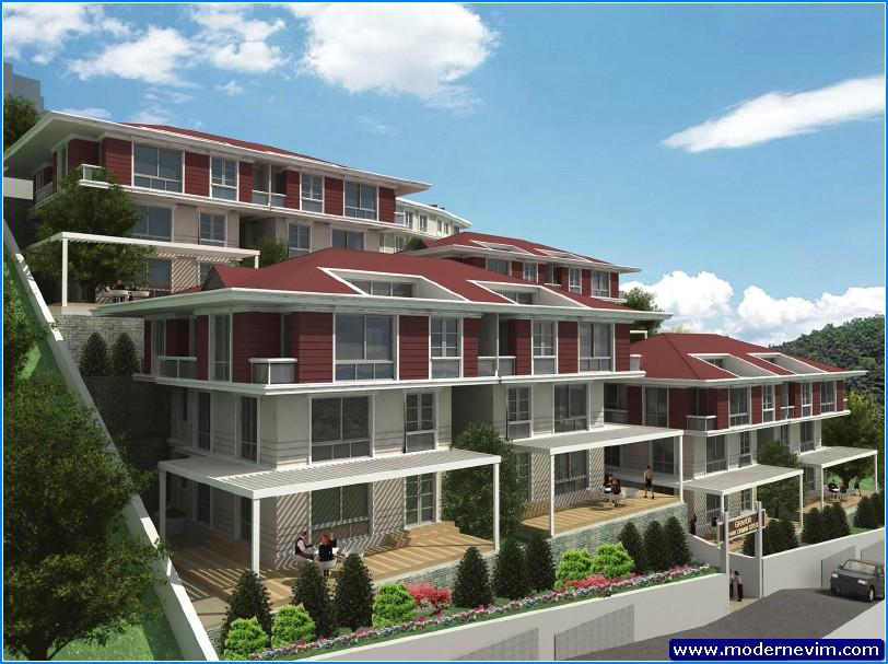 yeni apartman projeleri
