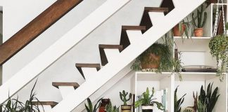 merdiven boşluğu dekorasyon fikirleri