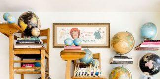retro ev dekorasyonu