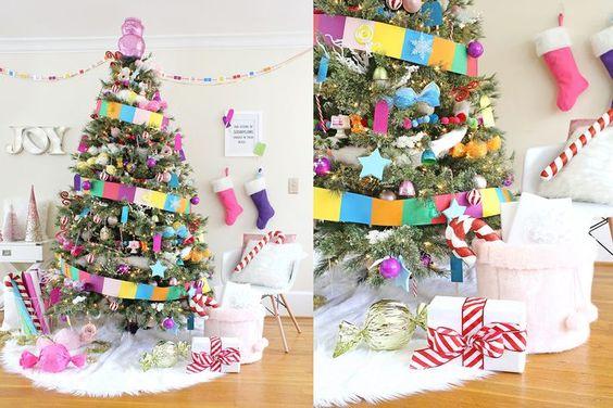 yılbaşı ağacı süsleme fikirleri