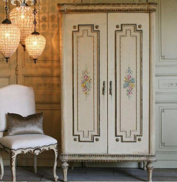 fransız yatak odası dekorasyonu