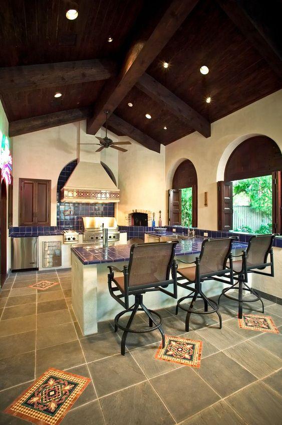 ispanyol tarzı mutfak dekorasyonu (2)
