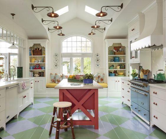renkli mutfak dekorasyonu (4)