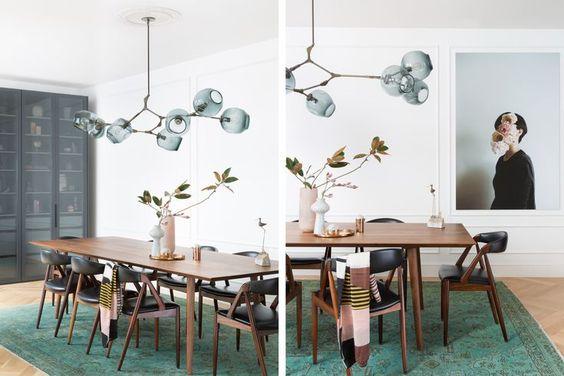 yemek odası aydınlatma fikirleri